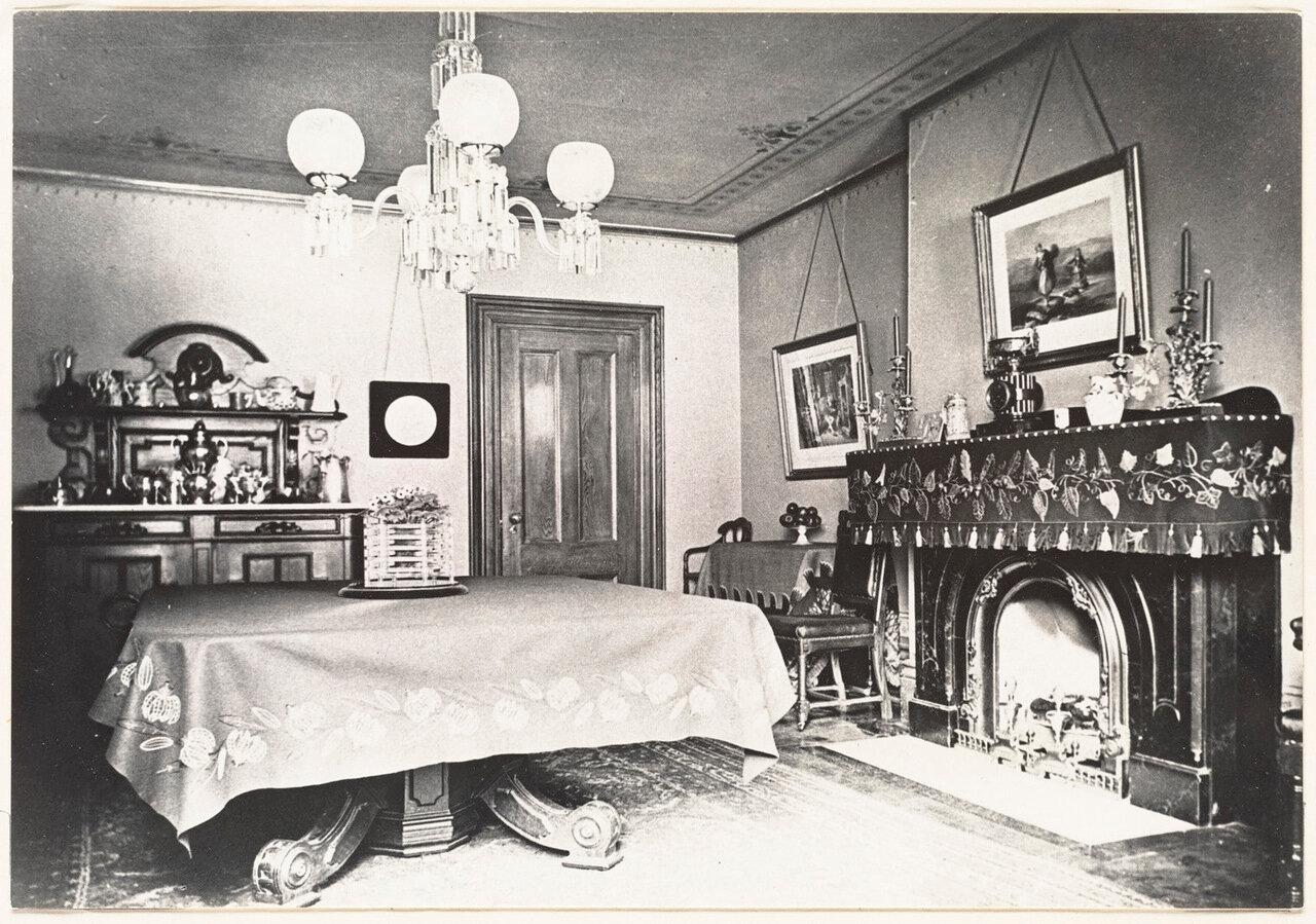 1885. Интерьеры дома по Юнион-стрит, 44