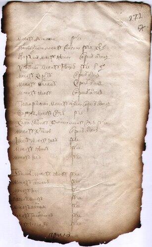 <a href='http://img-fotki.yandex.ru/get/5010/kostroma-archive.9/0_5943d_c30bcb1_orig.jpg'>1721 г. Список братии в приходно-расходной книге Богородицко-Игрицкого монастыря.</a>