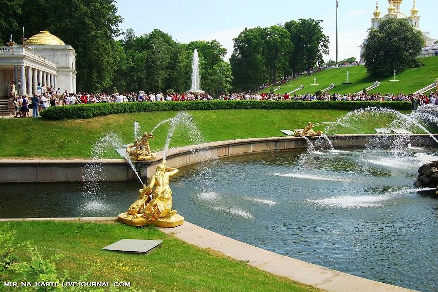 Вода для фонтанов скапливается