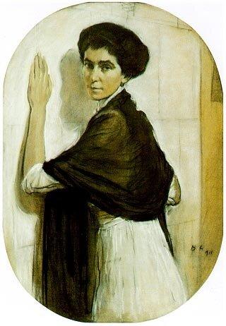 Серов. Портрет Софьи Владимировны Олсуфьевой, урождённой Глебовой (1911)