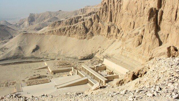 Храм царицы Хатшепсут. Египет