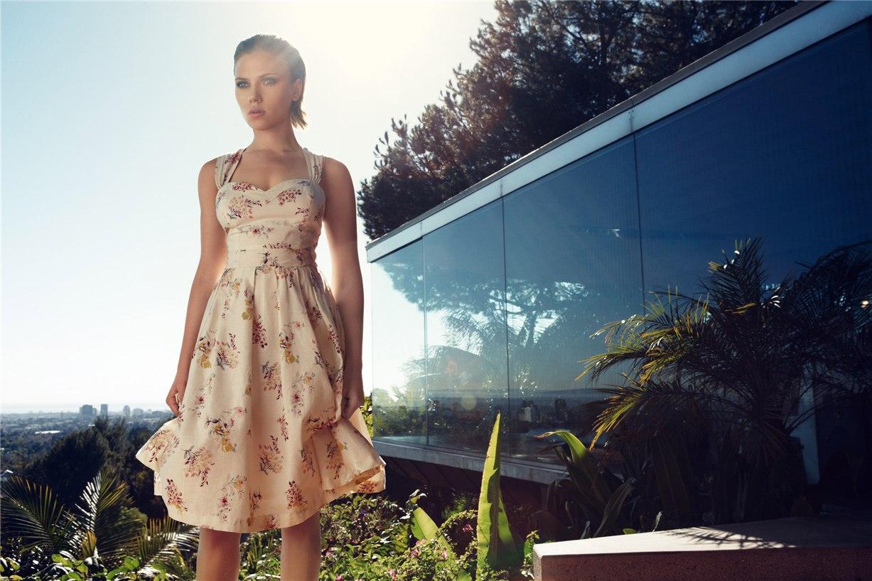 Скарлетт Йоханссон / Scarlett Johansson for Mango summer 2011
