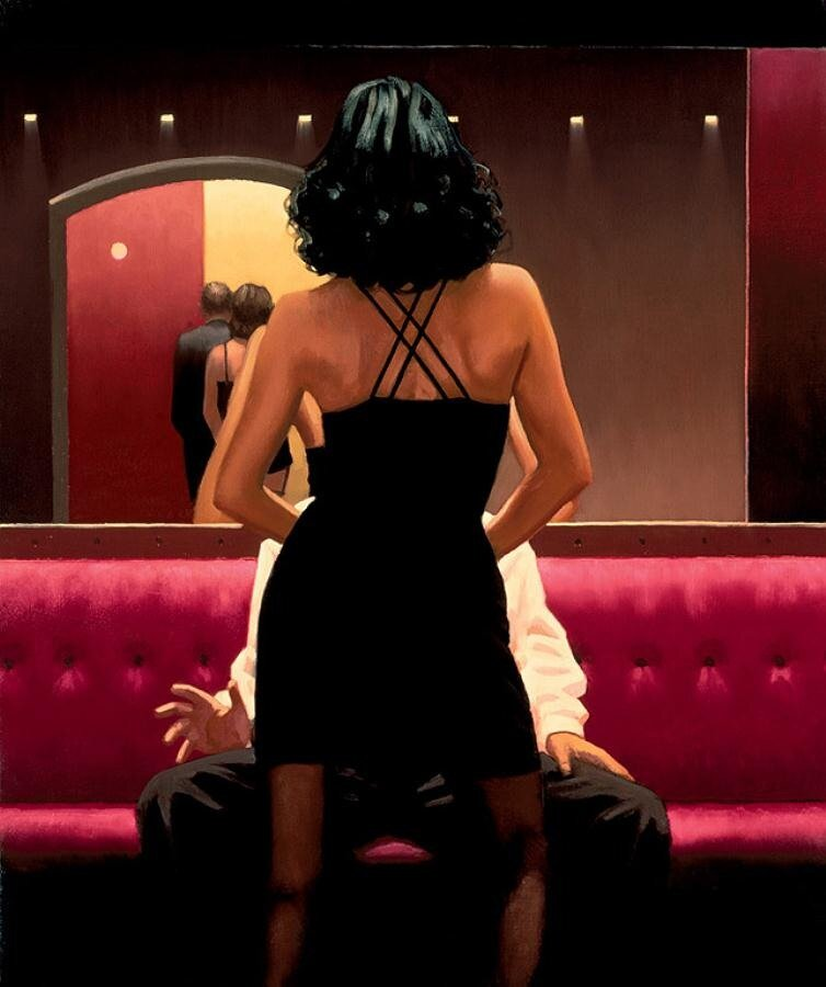 Private Dancer, by Jack Vettriano
