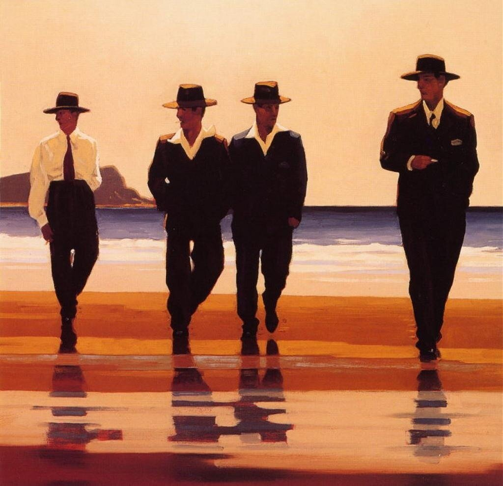 Billy Boys, by Jack Vettriano