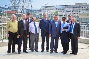 Комиссия Совета Федерации по национальной морской политике посетила о. Русский