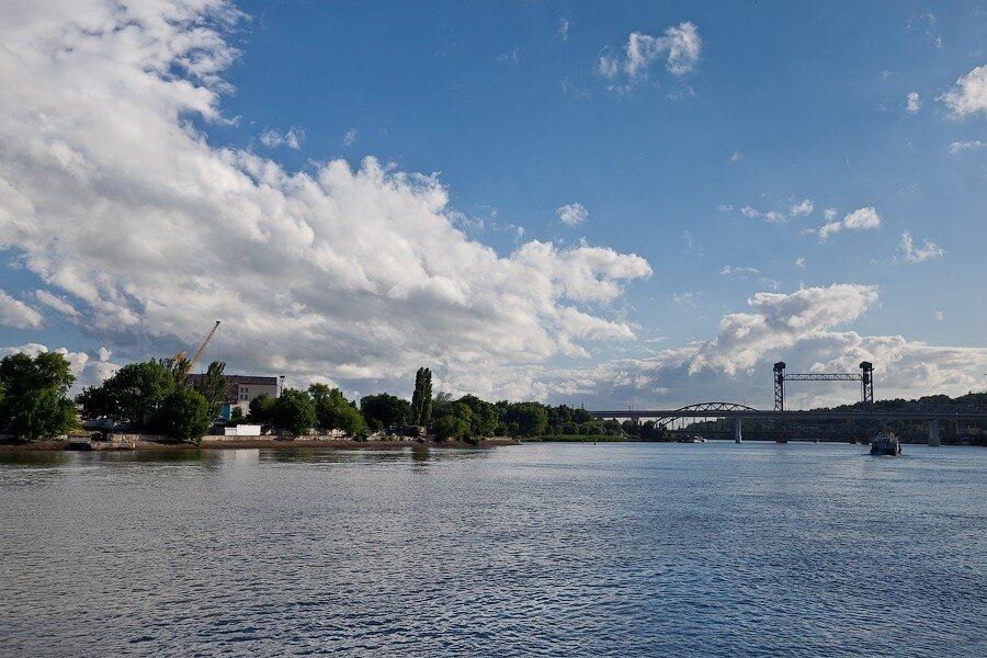 мост дон река ростов