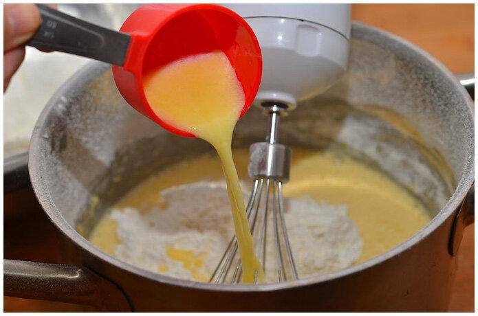 заварной бисквит нежность фото рецепт
