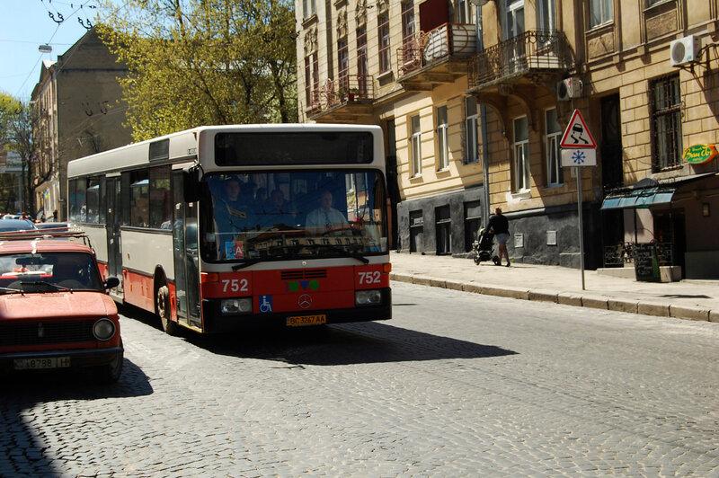 Автобусы во Львове