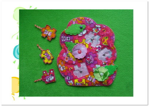 Детский календарь своими руками ~ Дерево Жизни ~ Апрель