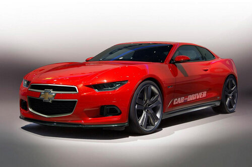 Объем мотора Chevrolet Camaro составит два литра