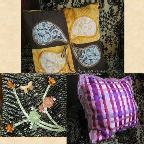 декоративные подушки Ольги