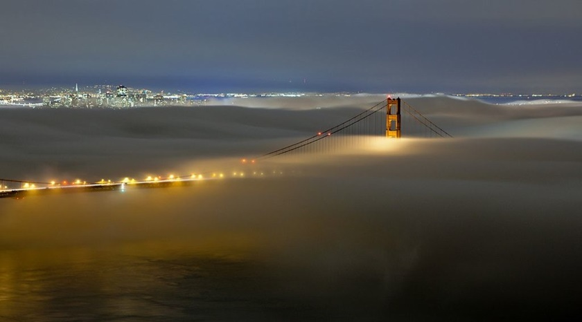 Красивые фотографии тумана в Сан Франциско, США 0 142274 828c1556 orig