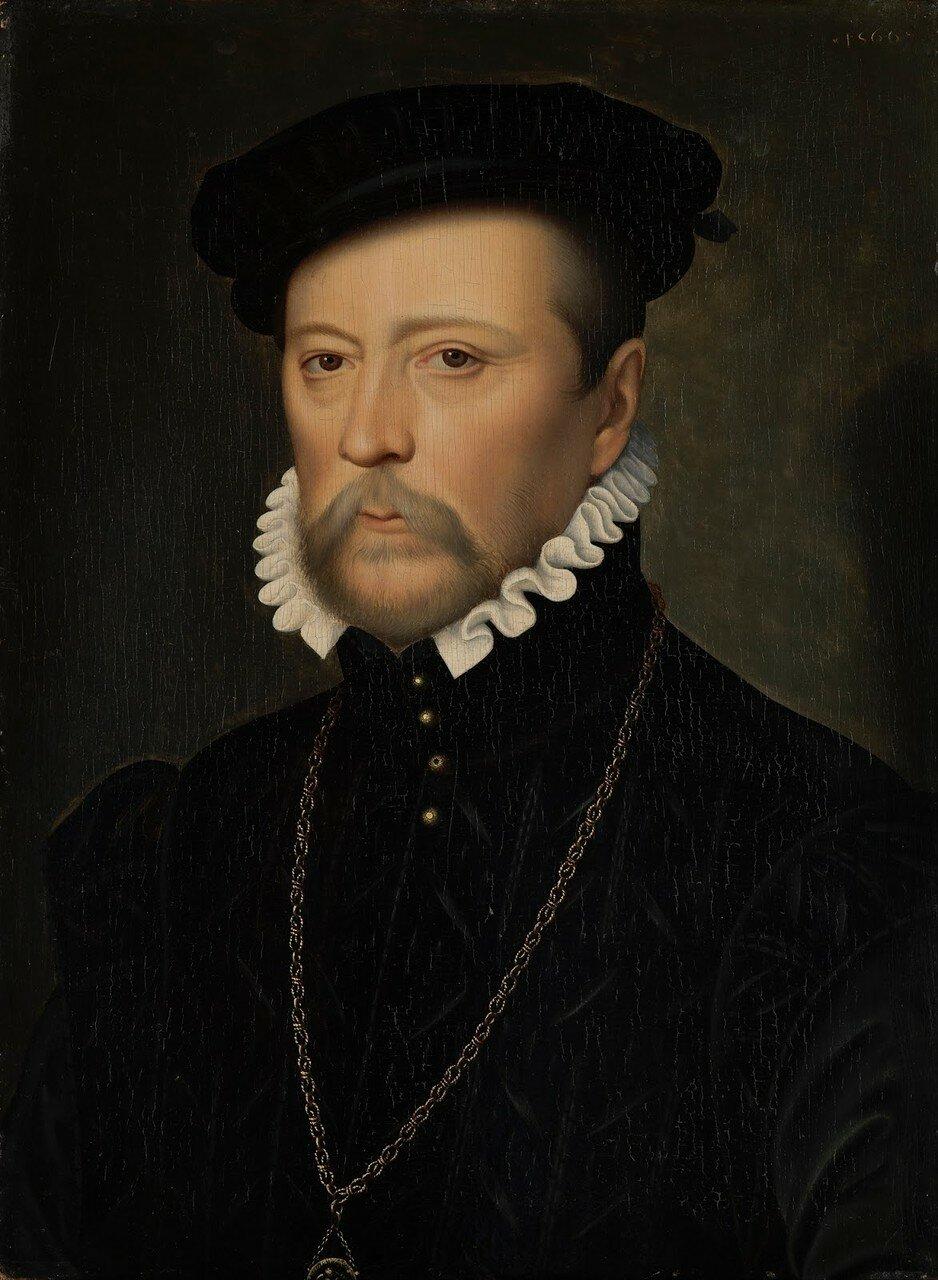 1039Франсуа де Скепо, граф де Дюреталь (Portrait of Francois de Scepeaux)_1566_д.,м._Индианополис, Музей искусства.jpg