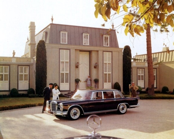 Настоящий аристократ Mercedes-Benz W100 1968