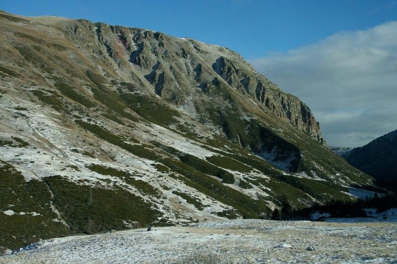 Северные склоны Пиренейских гор