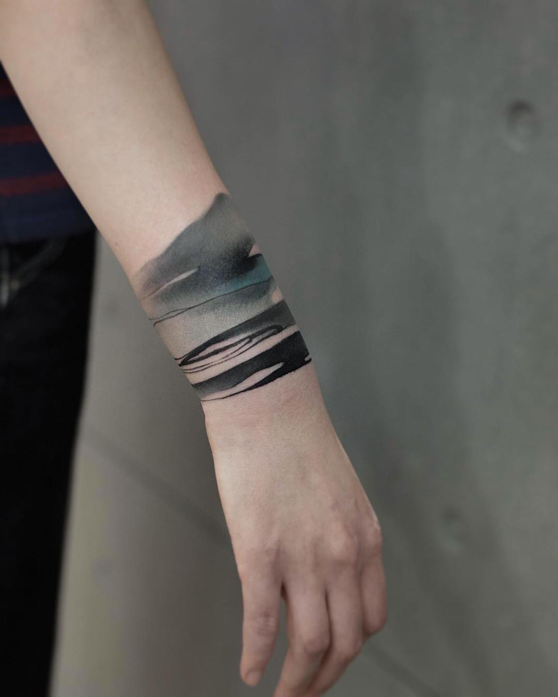 Les tatouages chinois de Chen Jie sont de veritables ?uvres d'art