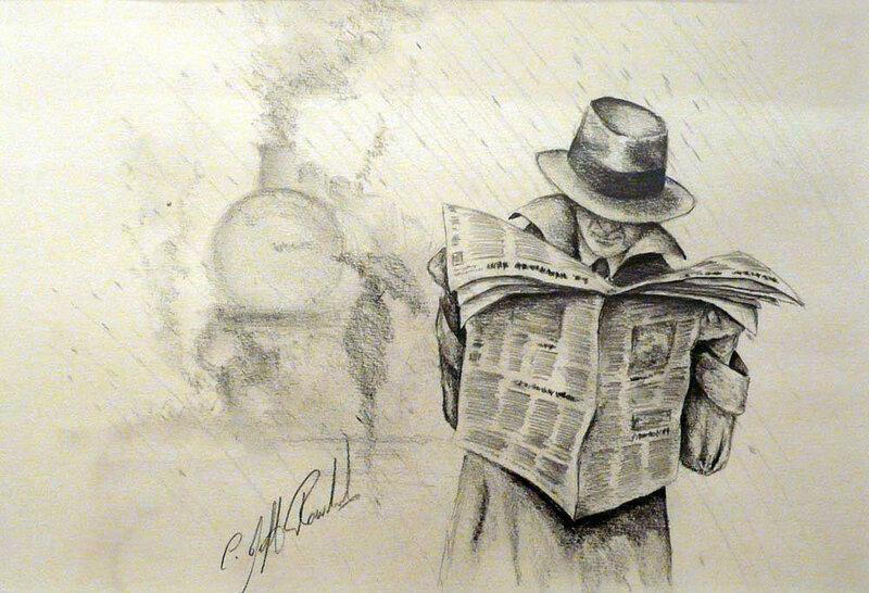 Английский художник Jeff Rowland