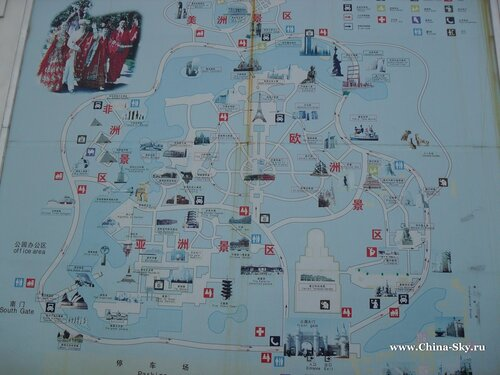 map Beijing World Park