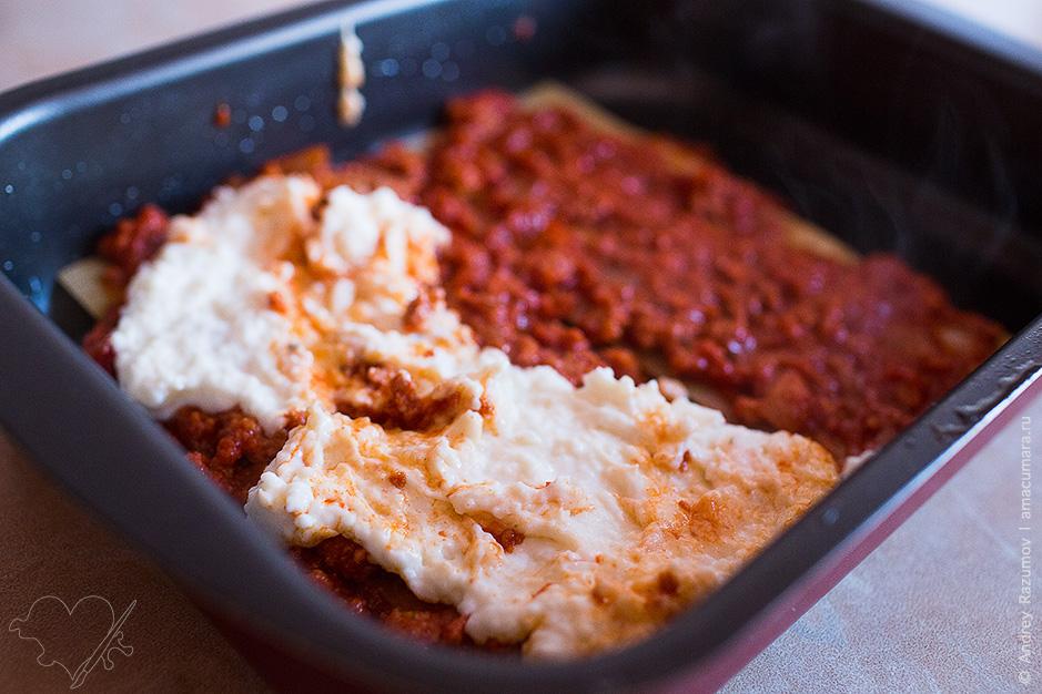 Как приготовить лазанью с соусом Болоньезе и Бешамель