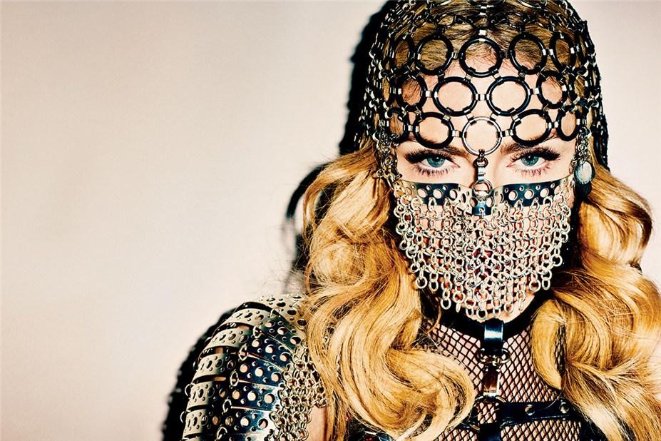 -дерзкая- Мадонна / Madonna by Terry Richardson Harper's Bazaar november 2013