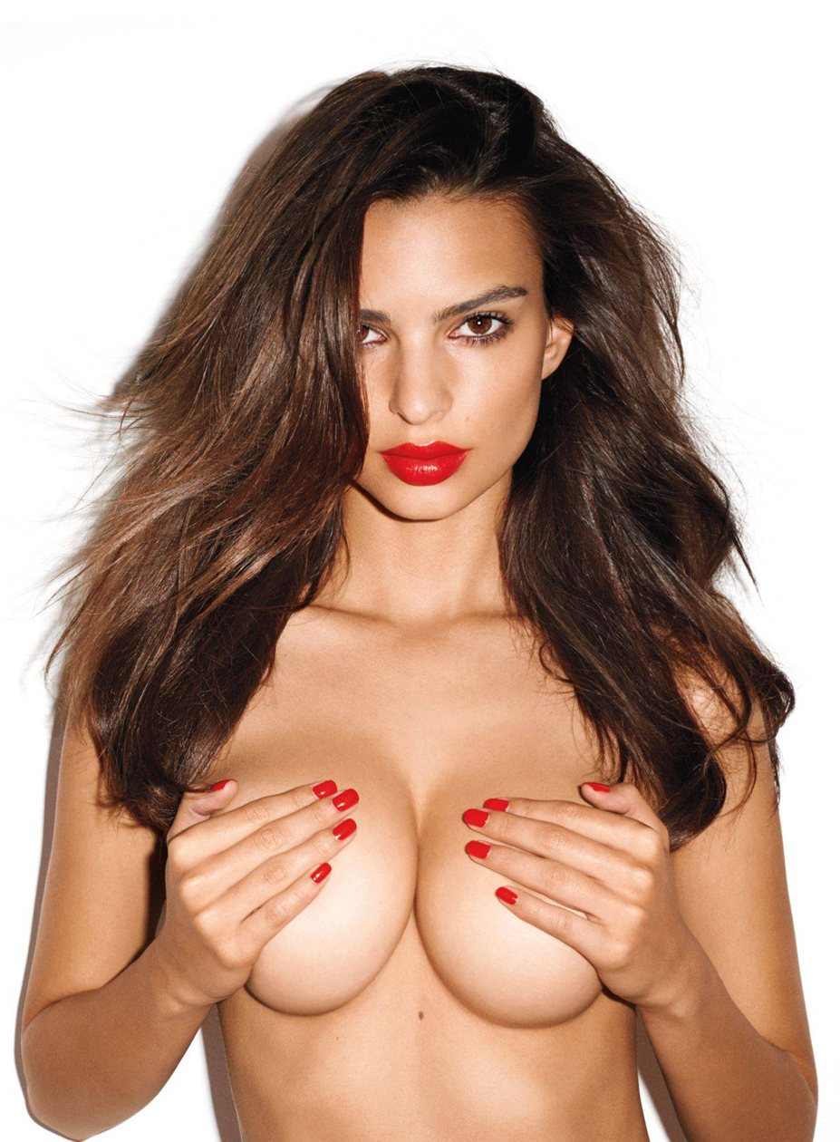 Emily Ratajkowski / ����� ����������� � ������� GQ US, ������ 2013 / �������� Terry Richardson