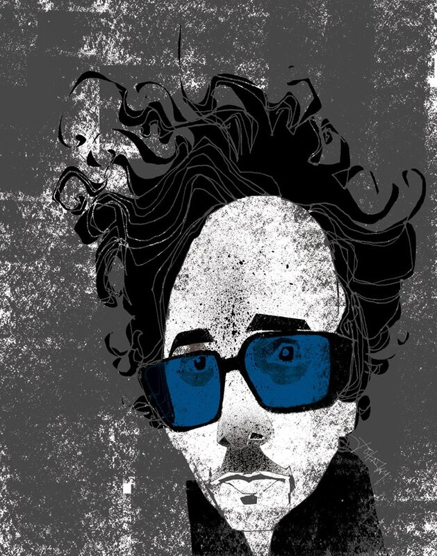 john jay illustration.Tim Burton