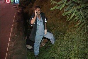 Хулиганы скинули жителя Владивостока с косогора