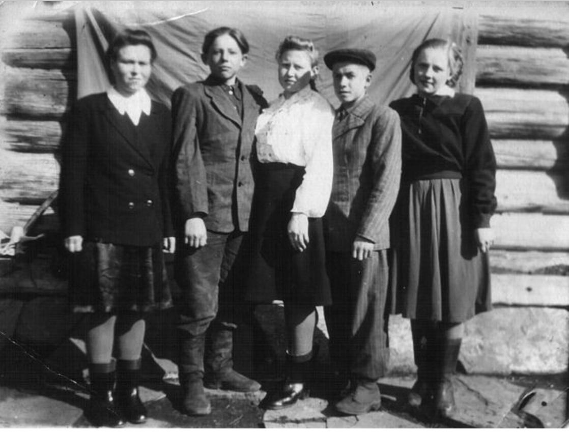 Сельская молодежь. 1950-е годы