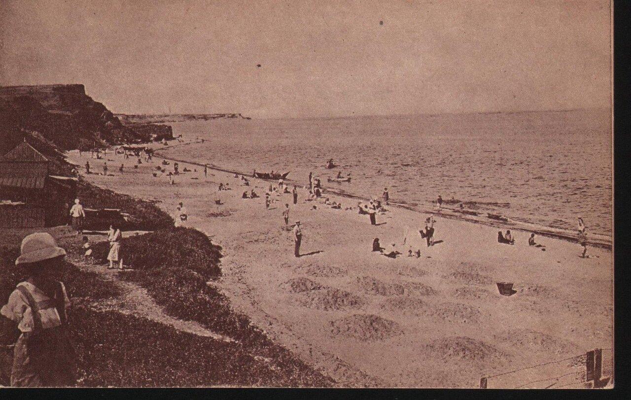 Люстдорф. Пляж. 20-е годы