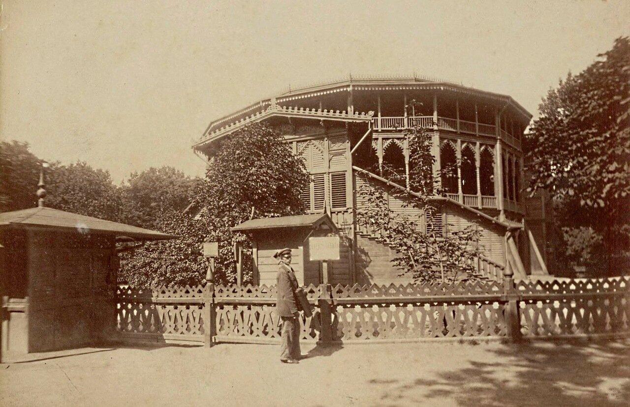Летний театр в Саксонском саду 1870