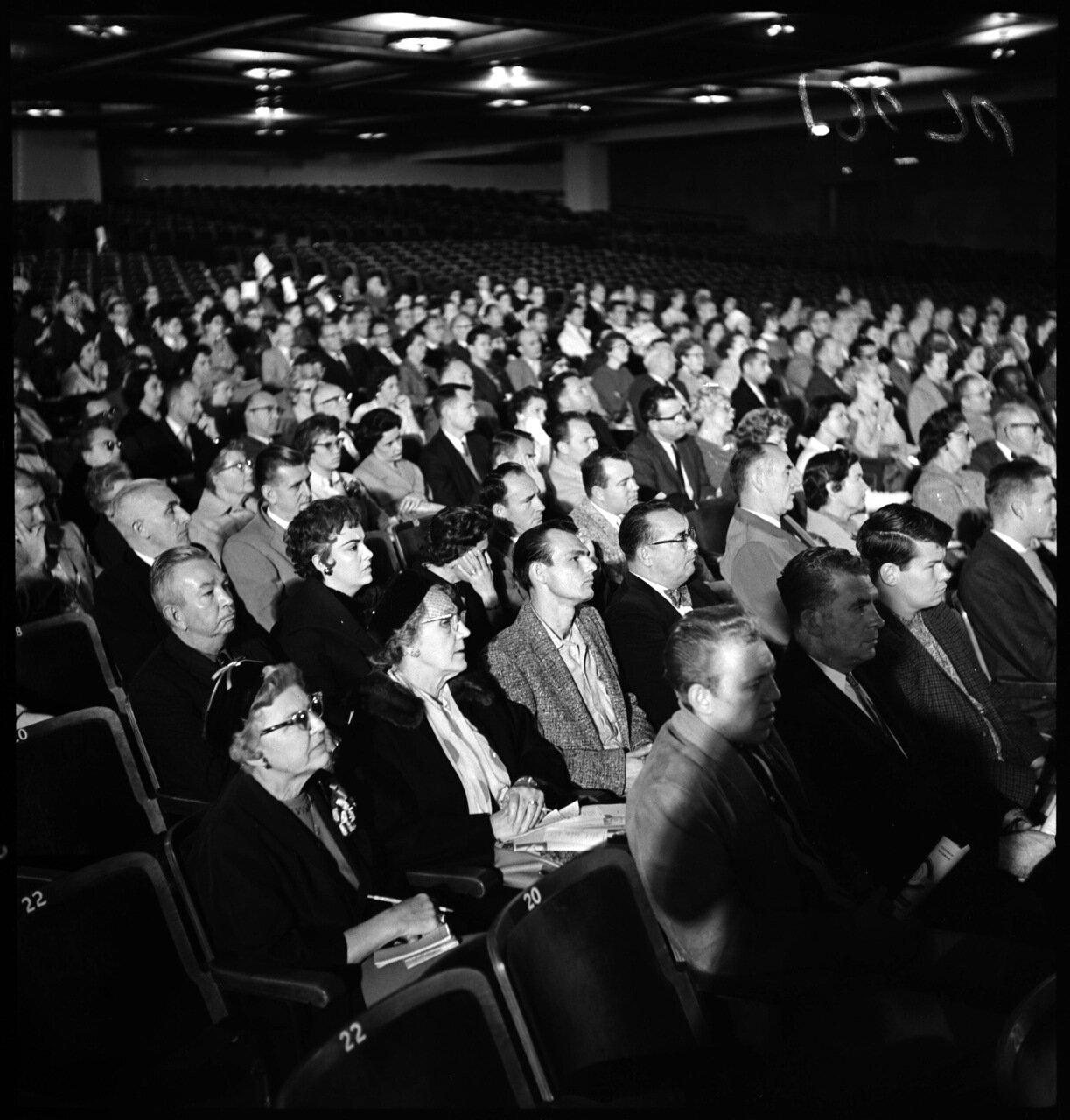 1961.12 декабря. Проект Тревога (антикоммунистическая конференция). Участники конференции