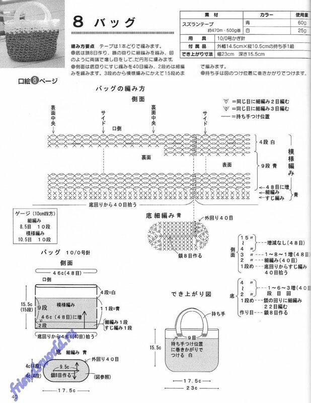 Книга: Вязание из полиэтиленовых пакетов (японский язык) .