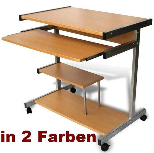 Computertisch mit rollen  COMPUTERTISCH Bürotisch PC-Tisch PC-Schreibtisch 320 | eBay