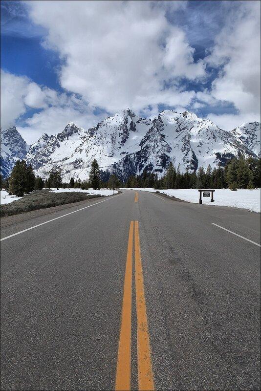 Дорога, ведущая к горам...