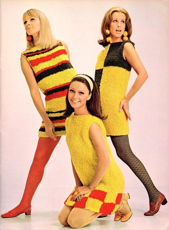 Мода 60 годов фото платья 6