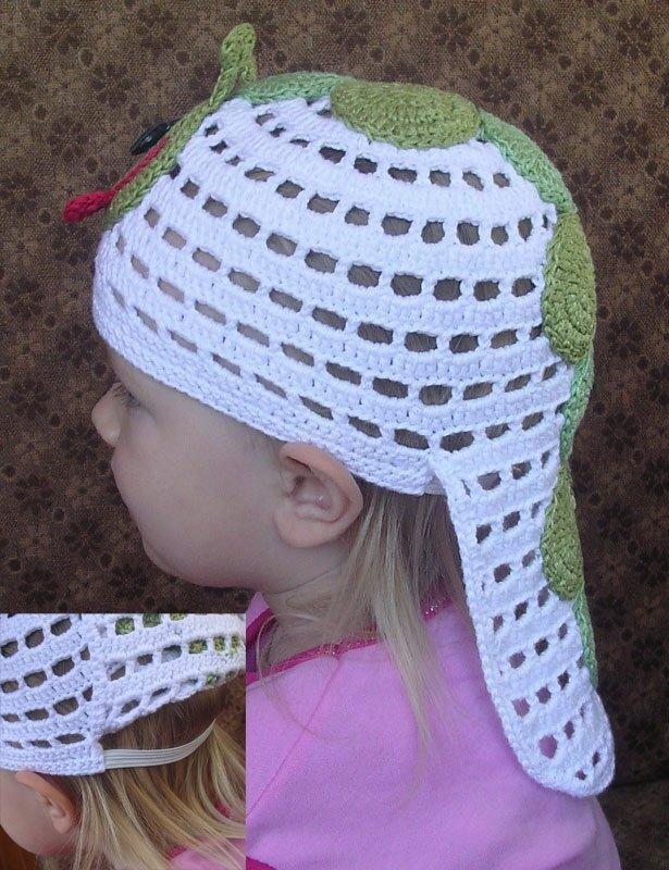 Вязание головных детских уборов 26