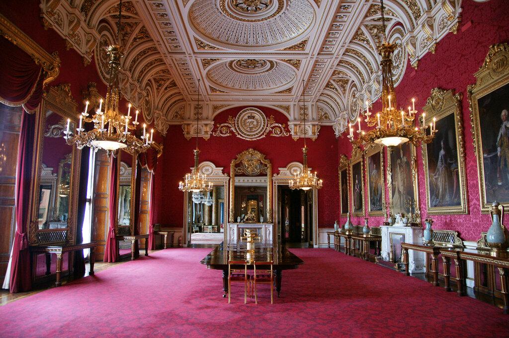 Интерьер букингемского дворца фото