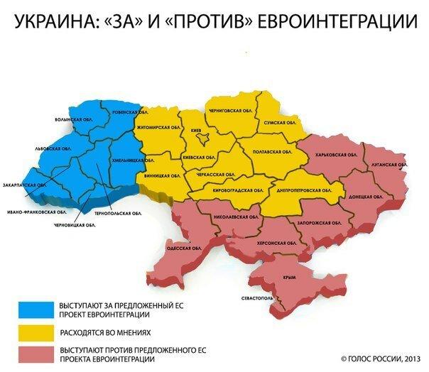 Что говорят регионы Украины?