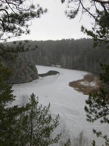 Река Каменка в Свердловской области. Автор фотографии - Мария Блинова