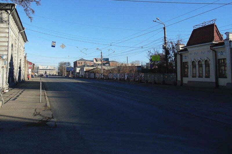 Челябинск. Улица Труда.