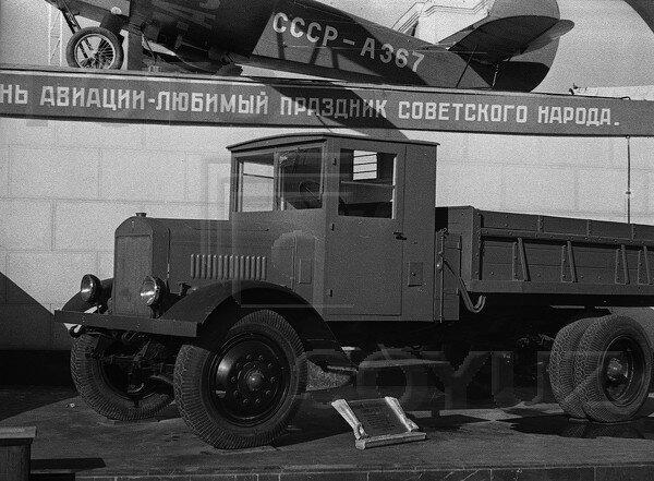ЯГ-6, павильон Механизация и электрификация сельского хозяйства СССР, 1939 г.