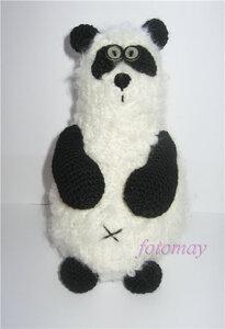 Панда в стиле Анны Удаловой (игрушка крючком)