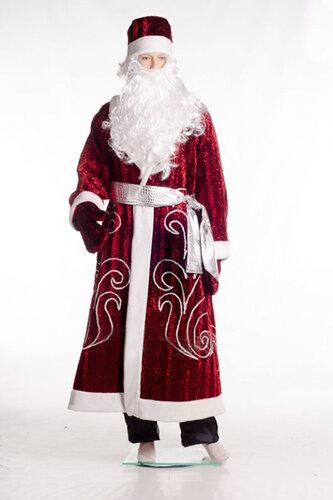 Мужской карнавальный костюм Дед Мороз