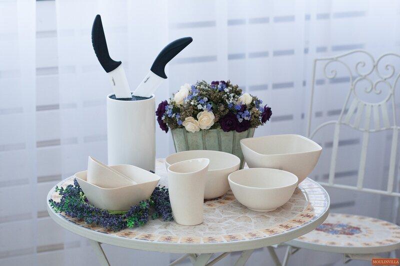 Бамбуковая посуда Moulinvilla