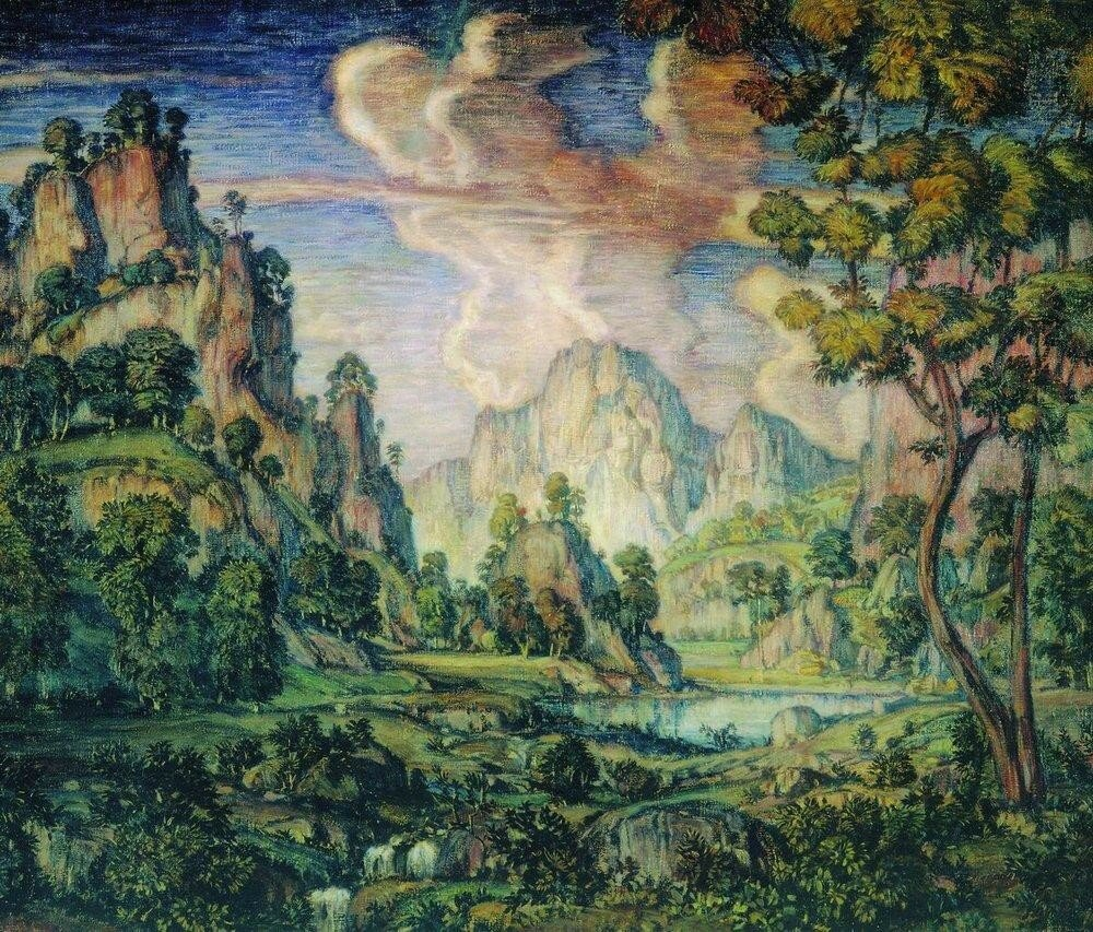 Классический пейзаж. 1910.jpg
