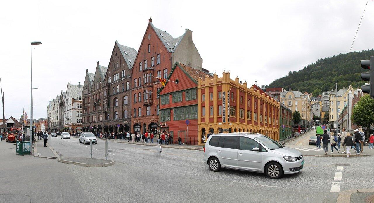 Берген, Ганзейская набережная. Музей. Bergen,
