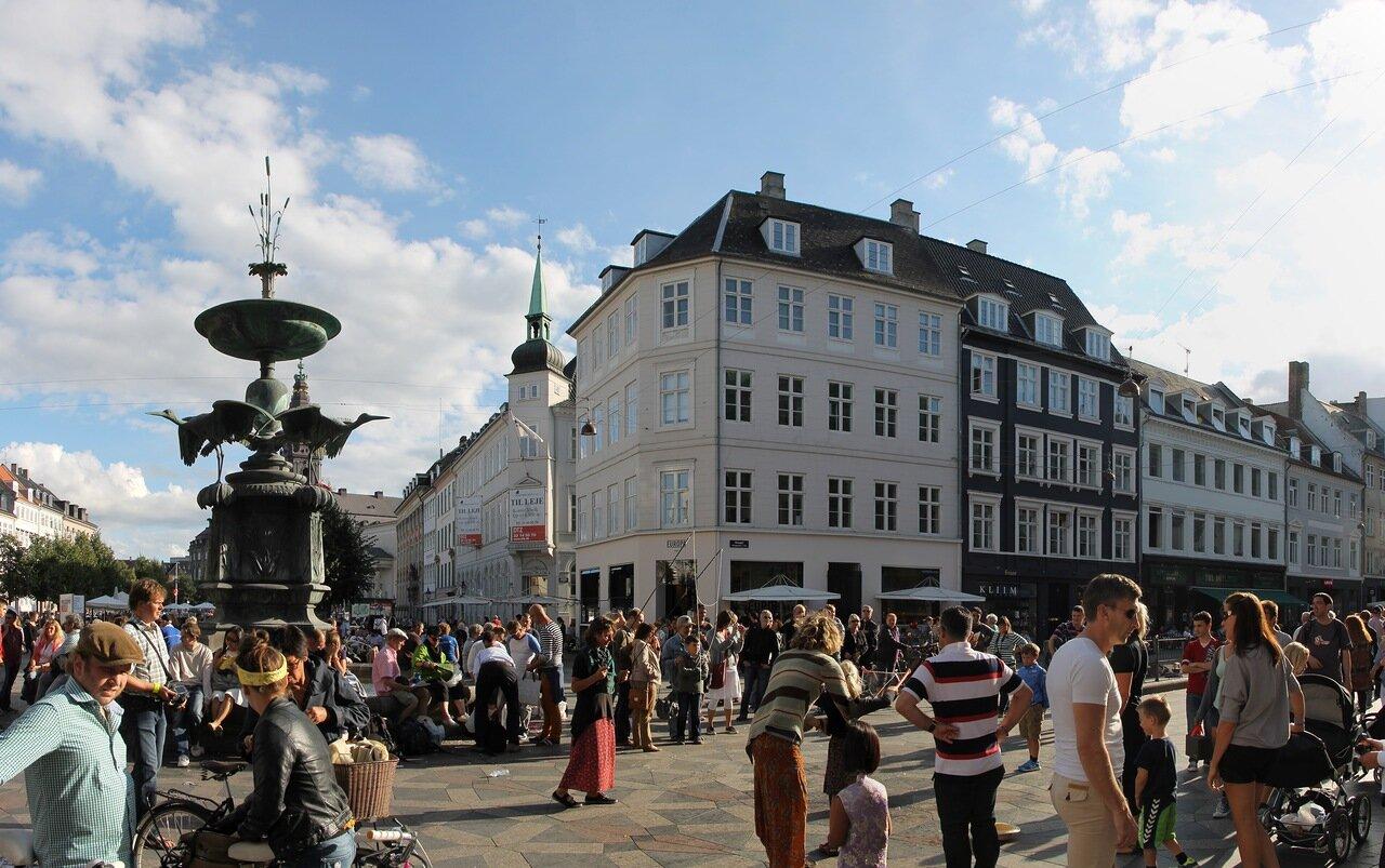 Copenhagen. Amager square (Amagertorv)