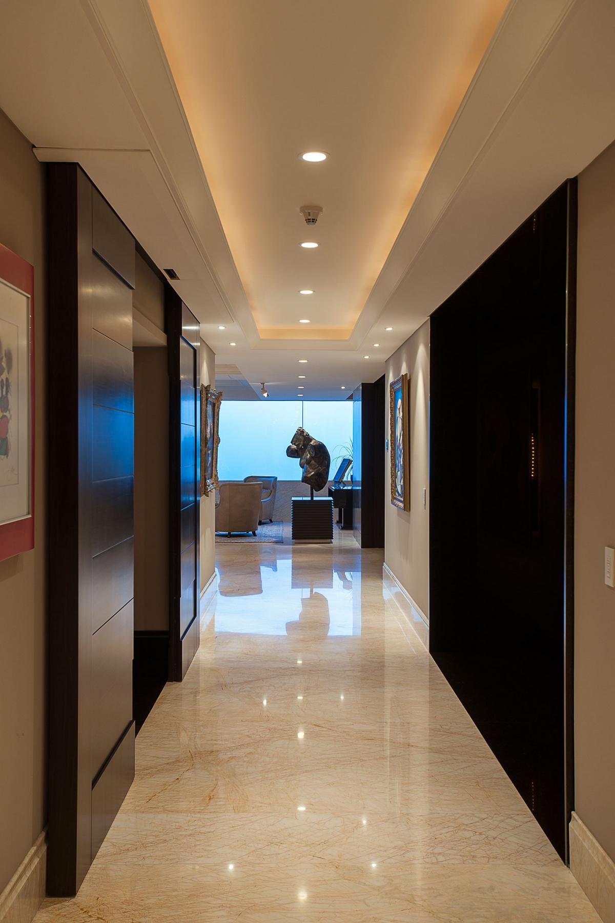 Departamento ASL, ARCO Arquitectura Contemporanea, квартира в Мехико, квартира в Мексике, шикарная квартира с видом на город, роскошный дизайн интерьера