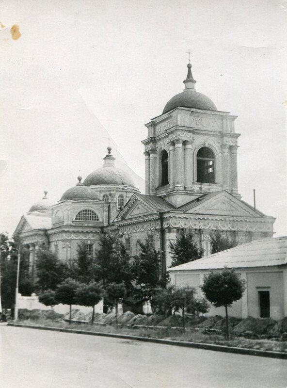 Преображенский собор, 1959, из коллекции А.Крупенкова (belgorod.doguran.ru)
