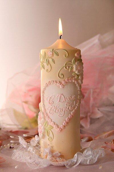 Свечи Свадебные замирают...